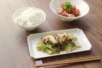 豚肉と白菜の味噌バター炒め - カタノハナシ ~エム・エム・ヨシハシ~
