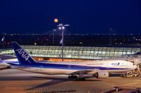 満月の夜 - K's Airplane Photo Life