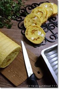 南瓜生地でオレンジとクリチのラウンドパンとパトカーに乗って来た! - 素敵な日々ログ+ la vie quotidienne +