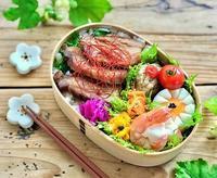 煮豚のっけ弁当とおうちごはん♪(照り焼き鯖の押し寿司...等) - おだやかなとき