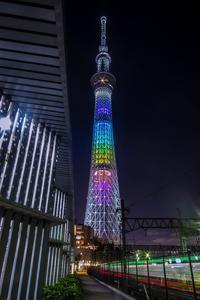 2019.5.197色のスカイツリー - ダイヤモンド△△追っかけ記録