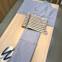 本日のおすすめ!麻の夏の着物です! - たんす屋 立川フロム中武3階店 縁着物