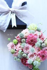 RoseのBOXアレンジ - Le vase*  diary 横浜元町の花教室