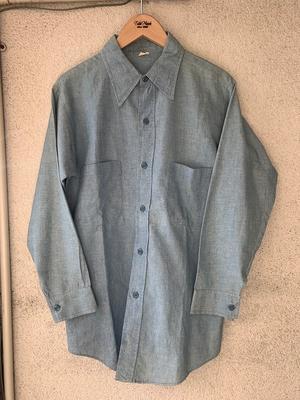 Vintage Chambray Shirt - TideMark(タイドマーク) Vintage&ImportClothing