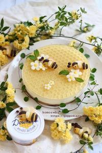 蜂の巣ケーキ&お庭通信♡ - komorebi*