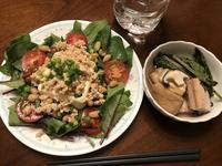 ほうれん草と豆腐のサラダ - よく飲むオバチャン☆本日のメニュー