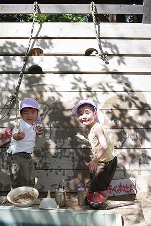 どちらも。ー終ー - 陽だまりの小窓 - 菊の花幼稚園保育のようす