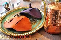イタリアンレザー・プエブロ・ドリップポット鍋つかみ・時を刻む革小物 - 時を刻む革小物 Many CHOICE~ 使い手と共に生きるタンニン鞣しの革