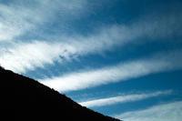 今日の空、昨夕の空・・・そして、田んぼの空 - 朽木小川より 「itiのデジカメ日記」 高島市の奥山・針畑からフォトエッセイ