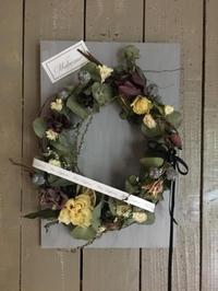 5月の1dayレッスン③ - driedflower arrangement ✦︎ botanical accessory ✦︎ yukonanai ✦︎ gland*