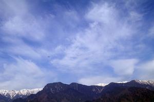 早朝ウオーキング有明山2268m 22日 -