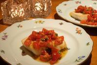 めかじきのソテーフレッシュトマトソース添え - まほろば日記
