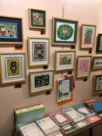 北岸由美さんの可愛い展示会「ついつい」〜浅草のチェドックさん - 素敵なモノみつけた~☆