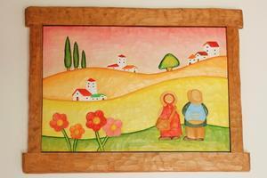 菜の花畑 -