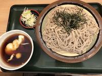 冷やしとろろそば大盛り@箱根そば - よく飲むオバチャン☆本日のメニュー