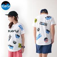 KAVU [カブー] Overallprint Tee [19821028] オーバーオールプリントTシャツ・半袖Tシャツ・MEN'S - refalt blog