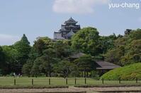 後楽園から見た岡山城 - 下手糞でも楽しめりゃいいじゃんPHOTO BLOG