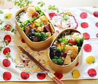 海苔つくね弁当と今月のネイル♪ - ☆Happy time☆