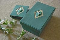 今年も刺繍の小箱の1day lessonに参加してきました。 - 浜松の刺繍教室 l'Atelier de foyu の 日々