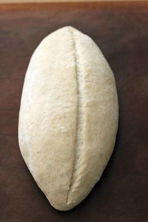 起こした酒種でライ麦のふんわりカンパーニュ -