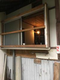 台所その15。もともとのアルミサッシ窓です。 - 風のいろ