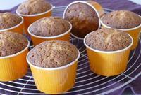 ジンジャーハニーカップケーキ - ~あこパン日記~さあパンを焼きましょう