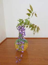 新緑と庭木の花々散策 - 活花生活(2)