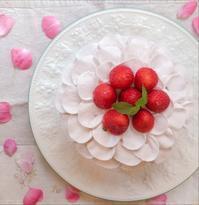 フリルショートケーキ - 調布の小さな手作りお菓子教室 アトリエタルトタタン