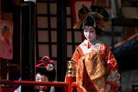 お旅まつり・子ども歌舞伎新吉原揚屋の場の弐 - ちょっとそこまで