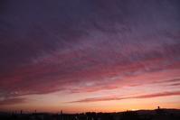 夕暮れ時、空を撮りました。 - 趣味・・・取って(撮って)走って、味わえるか・・・