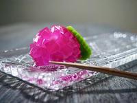 錦玉紫陽花 横浜ウオーカーに掲載して頂きました。磯子風月堂 - 横浜和菓子 磯子風月堂(和菓子屋のムスメ)