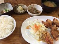 23日 唐揚げ定食@私の食卓 - 香港と黒猫とイズタマアル2