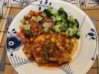 ひよこ豆の料理 - デンな生活