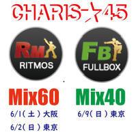 CHARIS★45RITMOS Mix60&FULLBOX Mix40チケット販売中♪ - カリテス ニュースブログ