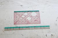 クロバーさんのカード型定規とミニものさし - フェルタート(R)・オフフープ(R)立体刺繍作家PieniSieniのブログ