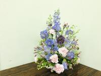 ペールトーンのアレンジ☆ - Flower Days ~yucco*のフラワーレッスン&プリザーブドフラワー~