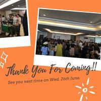 Merci * le 23 mai 2019 - +handmade@bkk+