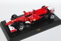 1/64 Kyosho Ferrari F1 3 F10 2010 - 1/87 SCHUCO & 1/64 KYOSHO ミニカーコレクション byまさーる