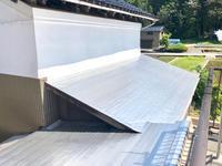 トタン屋根塗装しました - そば処花川blog 吉野谷の風の中で