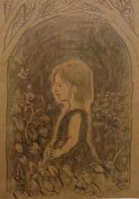 オリジナル画【不安】 - 鉛筆と遊ぶ