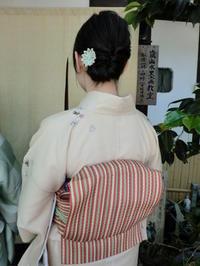 落ちついたお着物とヘアアレンジと。 - 京都嵐山 着物レンタル「遊月」