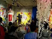 """イケミチコさんの""""Live Painting Show""""に参戦?して来ました。 - 太田 バンビの SCRAP BOOK"""