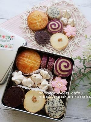 クッキー缶 - nanako*sweets-cafe♪