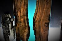 リバーテーブル木+レジン - SOLiD「無垢材セレクトカタログ」/ 材木店・製材所 新発田屋(シバタヤ)