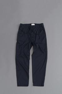 STILL BY HANDP/L 1-Tuck Easy Trousers (Navy) - un.regard.moderne