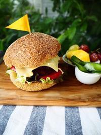 ハンバーガー弁当と再会 - Kitchen diary