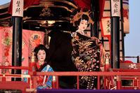 お旅まつり・子ども歌舞伎新吉原揚屋の場の参 - ちょっとそこまで
