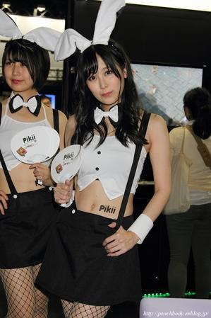 栗沢綾乃 さん(Pikii ブース) - Peach Body