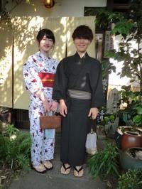 今年初の浴衣で嵐山。 - 京都嵐山 着物レンタル「遊月」
