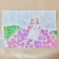 6月のフェアリーパステルアート®の妖精です - アトリエ絵くぼの創作日誌